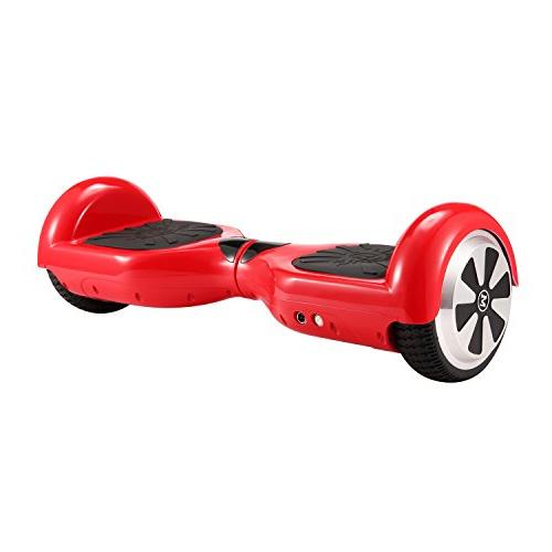 "tebisi 6.5"" Hover Board Self Balancing Scooter Lights Black"