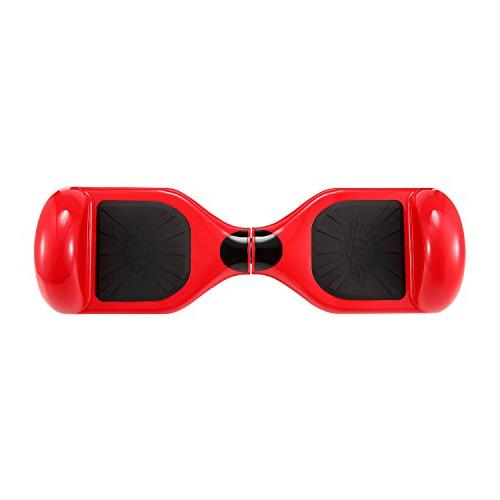 "tebisi 6.5"" Board Electric Balancing Scooter Wheels - Fiber/Spider/Built-in Speaker Available Black Gold"