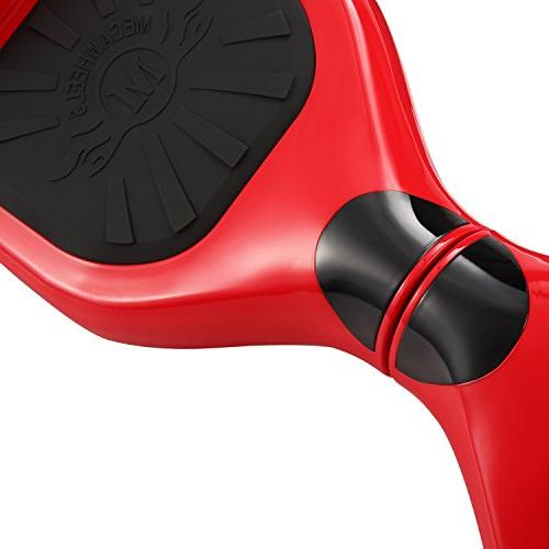 tebisi inch Board Electric Scooter LED Wheels Lights - Certified Fiber/Spider/Built-in Black Blue Gold Pink