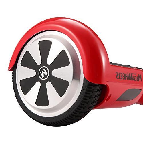 tebisi Board Electric Self Balancing Scooter Lights - Fiber/Spider/Built-in Speaker Black Red White Gold