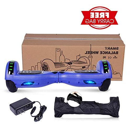 Wheels Balancing Scooter with Wireless Light-UL 2272 Gift