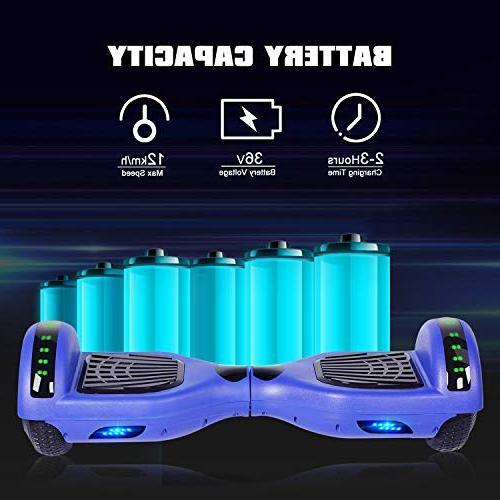 Felimoda inch Wheels Balancing Wireless Gift Adult,Blue