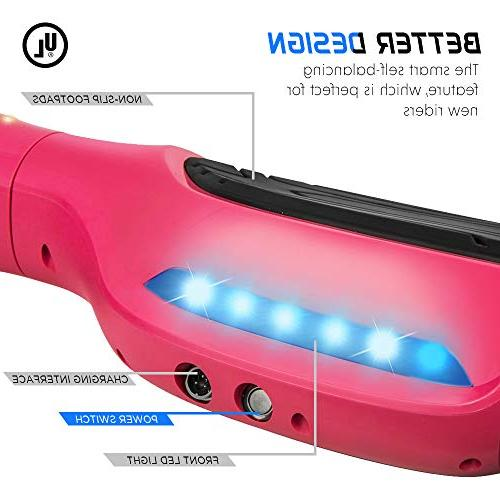 "Levit8ion 6.5"" Hoverboard - - UL Bluetooth w/Speaker, LED and LED"