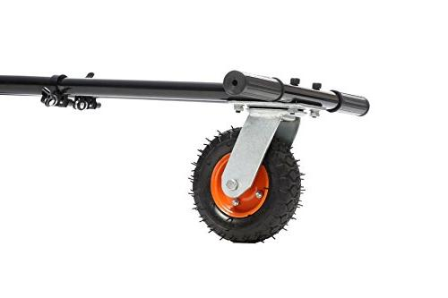 Jetson 2.0 Universal Hoverboard Attachment Hoverboard to Sit Electric Go Rear Suspension for Road Riding - Any