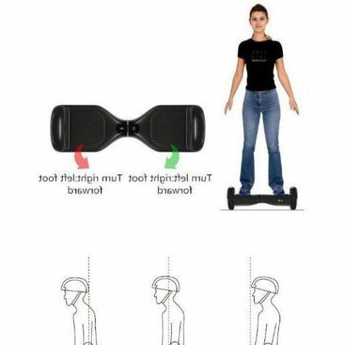 Hoverboard Balancing Wheel skateboard Rider
