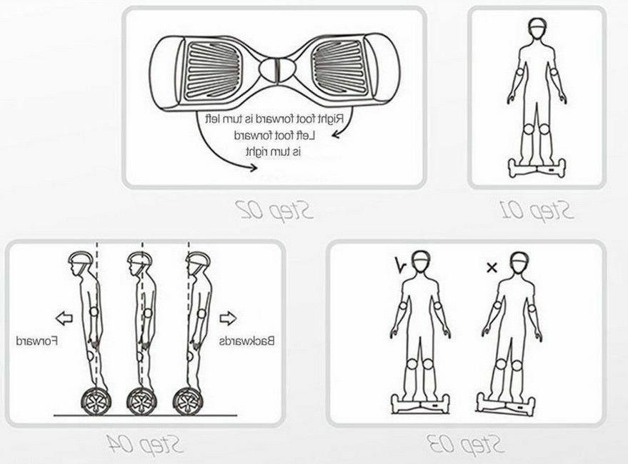 Hoverboard Scooter UL Wheel balance skateboard
