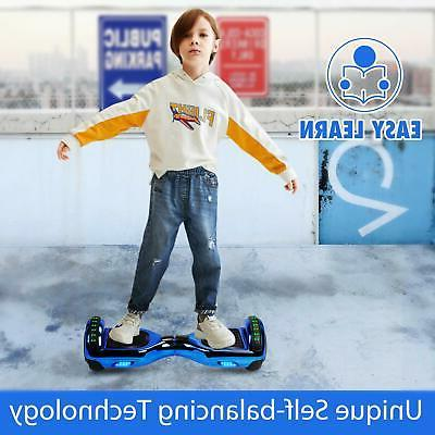 LED Lights Hoverboard Balancing Scooter Hover Board for Kids