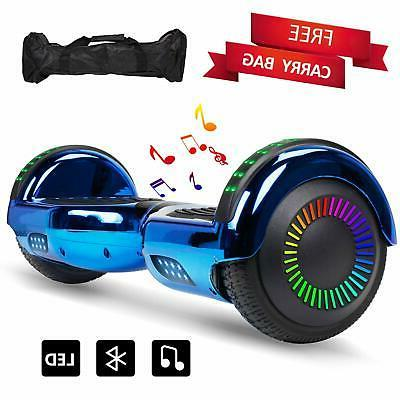 led lights hoverboard self balancing scooter hover
