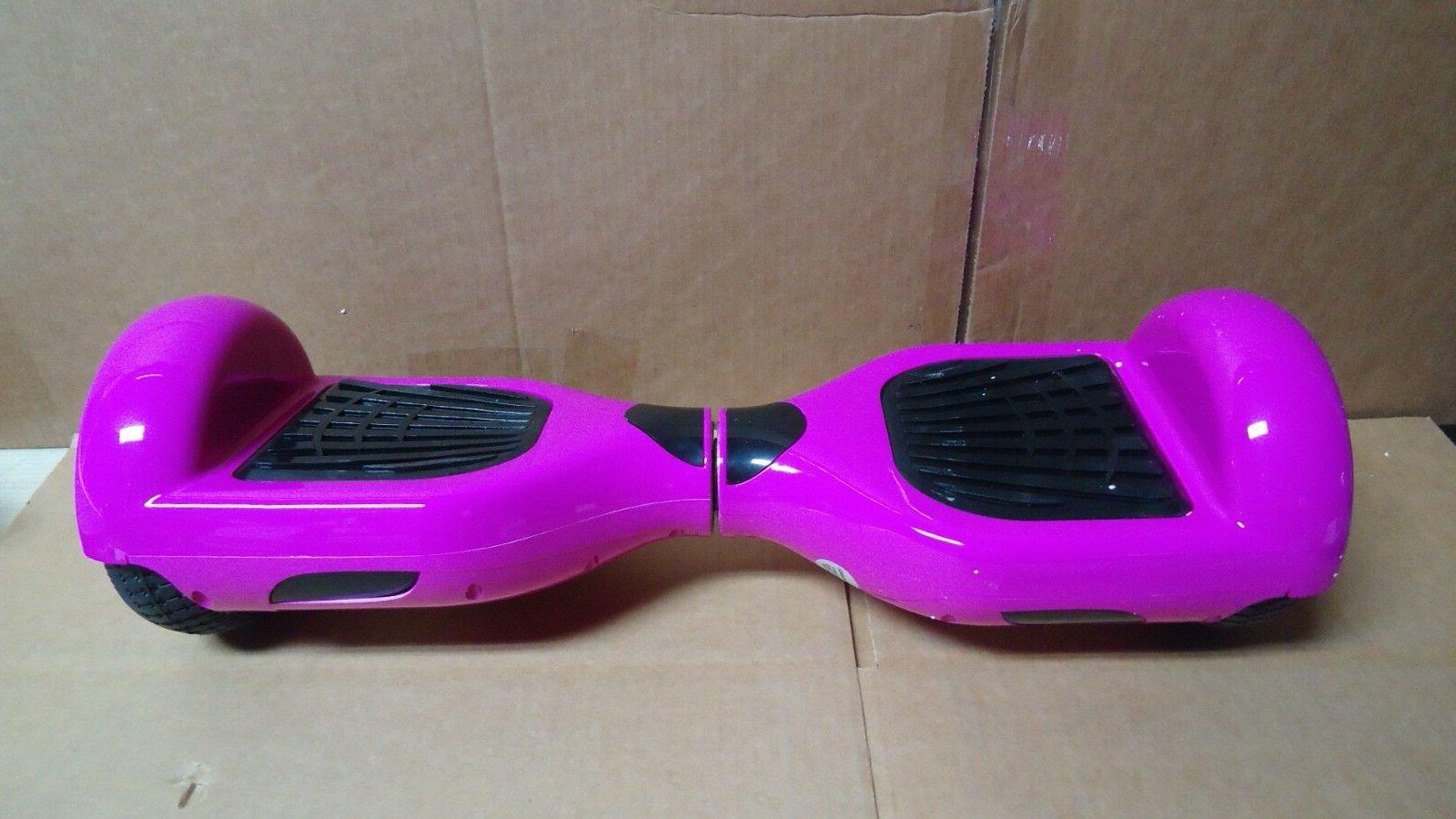 Megawheels LQ1 Self balancing electric Pink Board