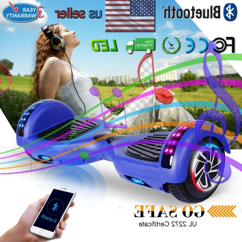 Megawheels Hover Boards Bluetooth Speaker Electric Self