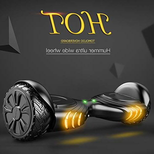 TOMOLOO Board for Kids and Two-Wheel Scooter- Certificated Music Colorful