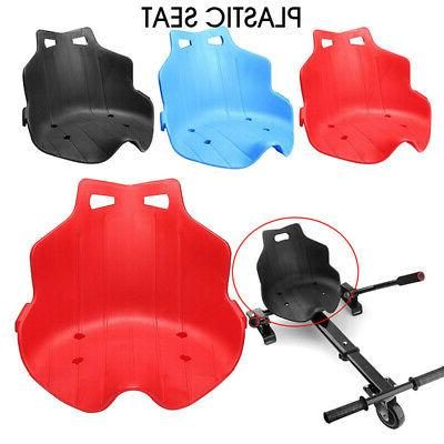 plastic seat stand for kart hoverboard seat