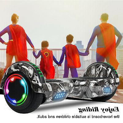 NEW Electric Balancing LED Hoverboard UL2722 +