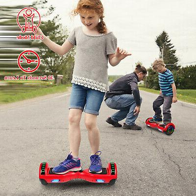 New Hoverboard 6.5 w/Bluetooth Speaker and LED Wheels Bag