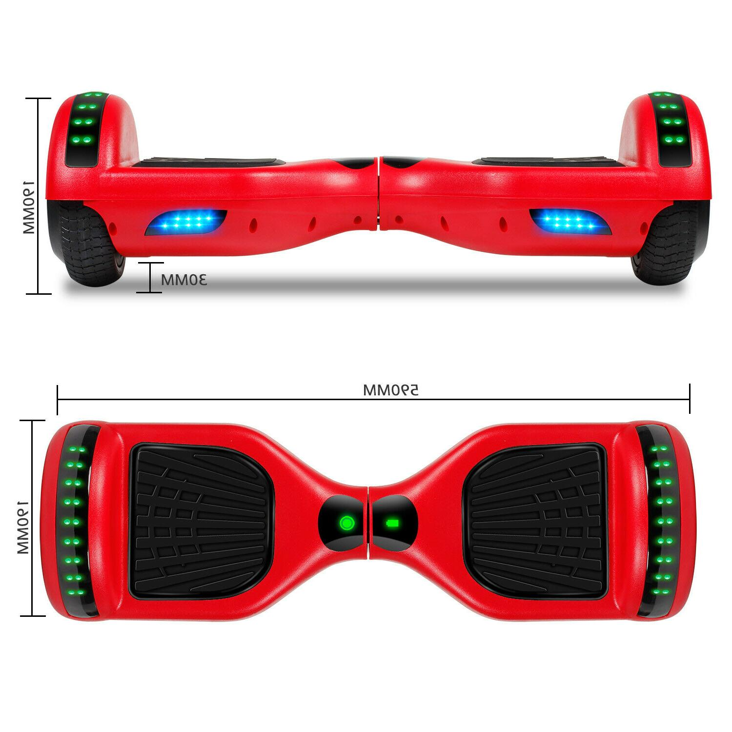 New Hoverboard 6.5 w/Bluetooth Wheels Bag
