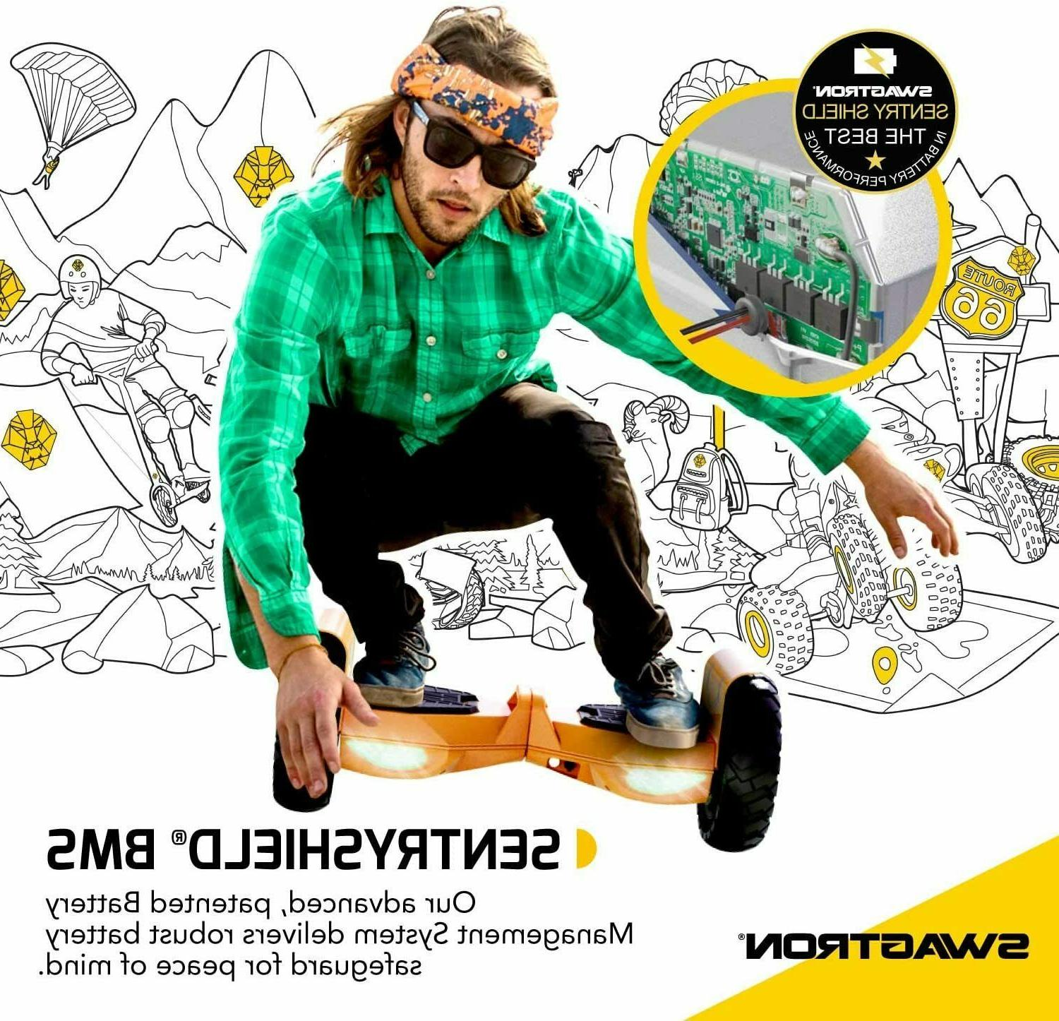 Swagtron Hoverboard Adults