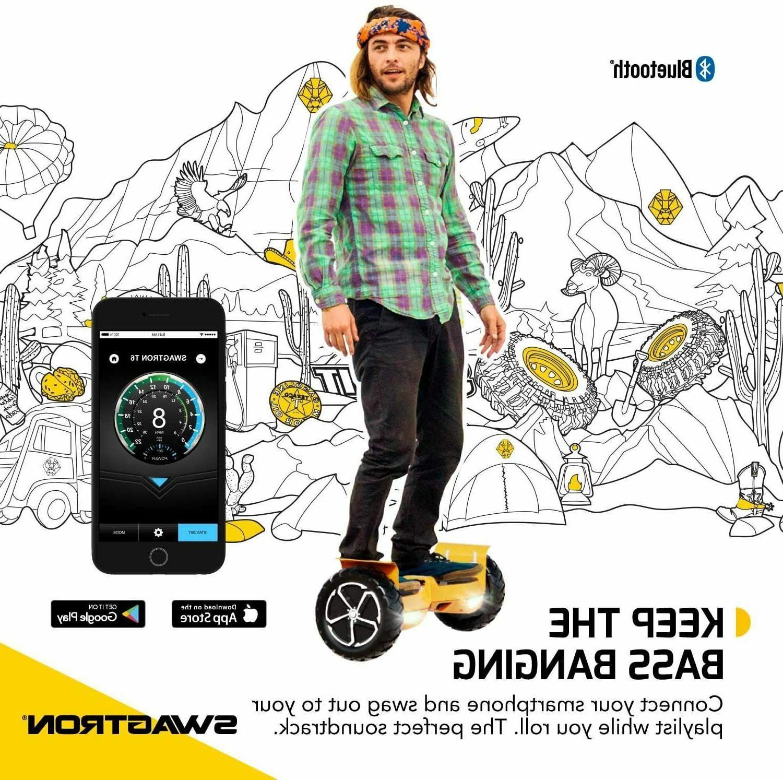 Swagtron Bluetooth Self Balancing Adults Orange