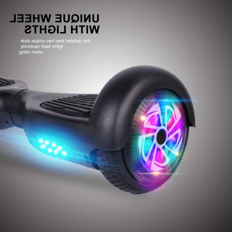 Power Hoverboards 6.5 Inch Two Wheel Electric Scooter for Kids
