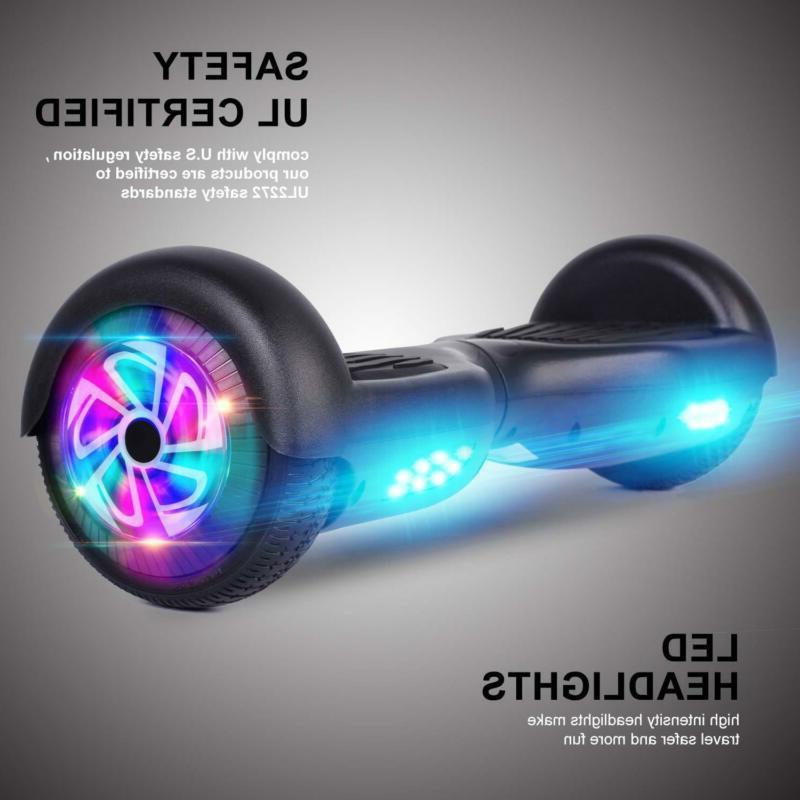 Power Hoverboards Inch Two Wheel Smart Electric Scooter UL Kids
