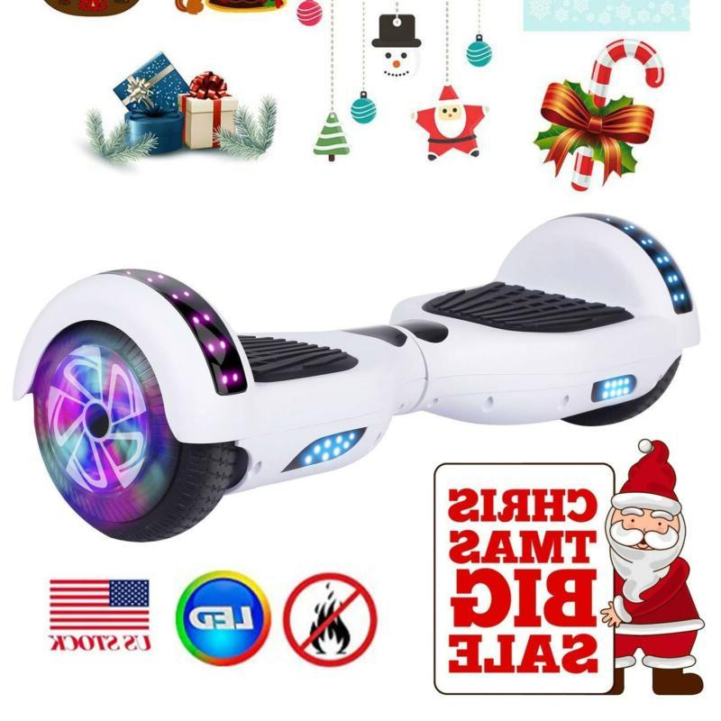 bluetooth huver hover self scooter UL2272 led