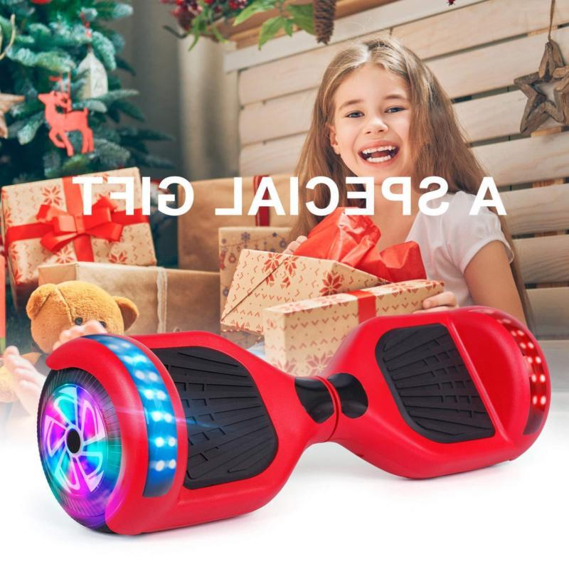 bluetooth hover scooter led