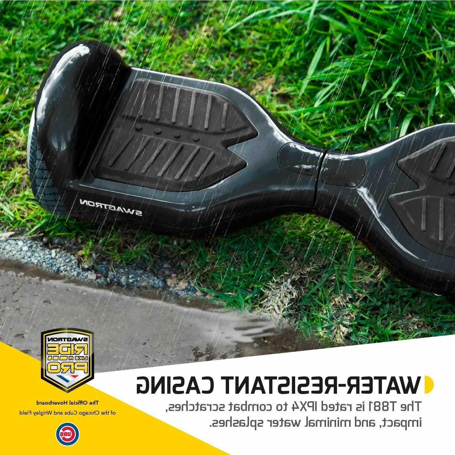 Refurbished Swagtron T881 Lithium-Free UL2272 Hoverboard 250W