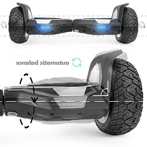 XtremepowerUS 8.5 All Self-Balancing w/Bluetooth Speaker