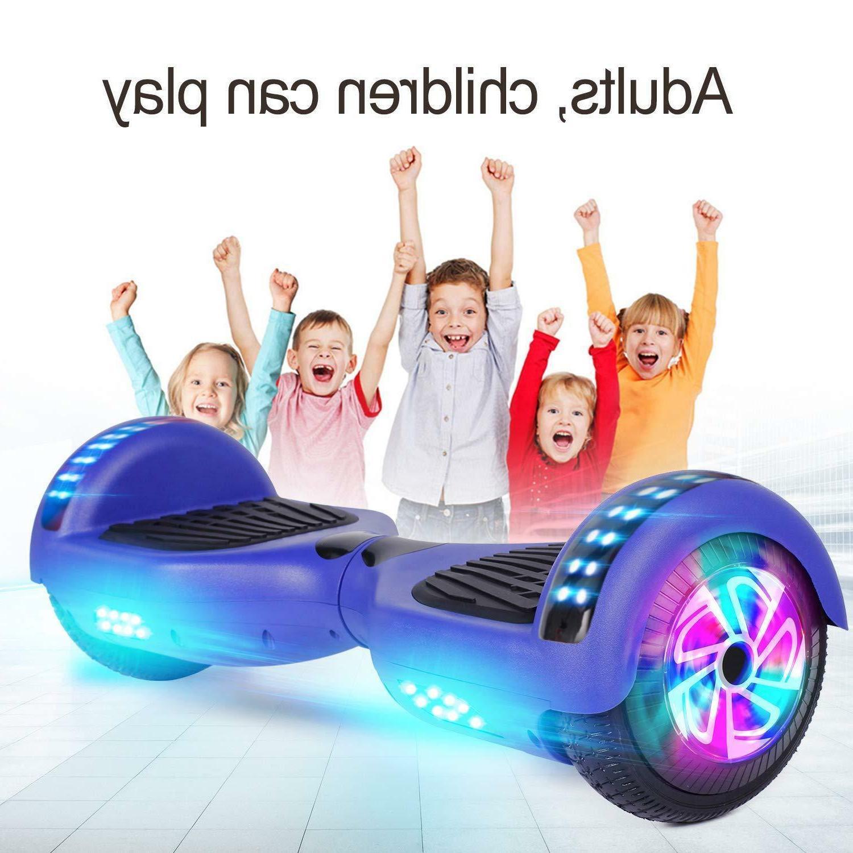 "Sea Bluetooth Hoverboard 6.5""Two-wheel Balancing UL 2272 LED"