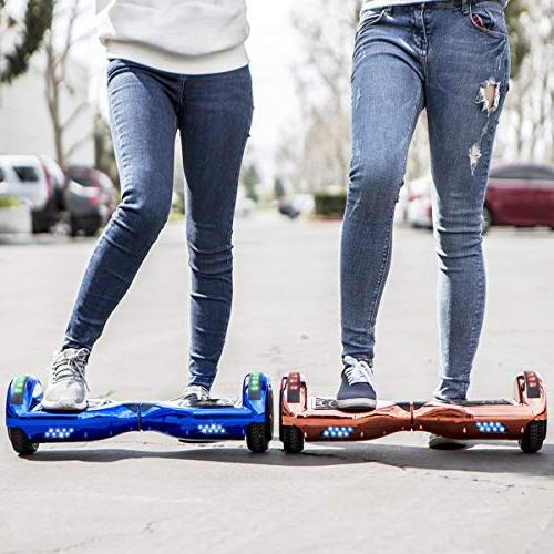 XtremepowerUS Self Balancing Hoverboard Bluetooth Speaker and