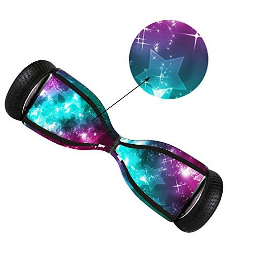 Sticker Hover - Skin for Self-Balancing Electric - Decal for Longboard - Smart Cover for 2 Wheel Fit for