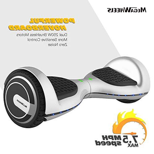 MEGAWHEELS UL Colorful Led Hover Board