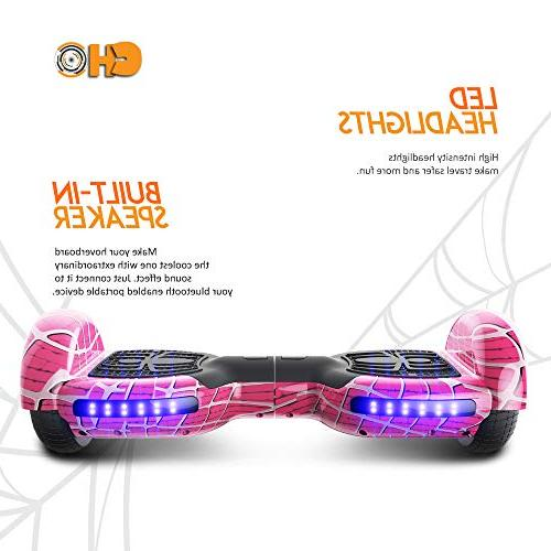 CHO Spider Wheels Hoverboard Board with Wheels Scooter Self