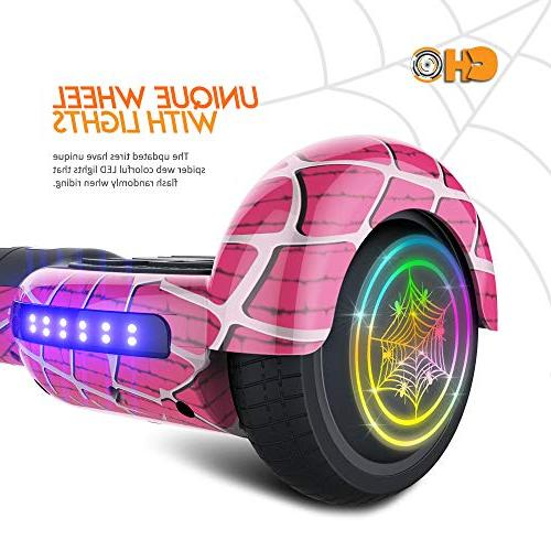 CHO Hoverboard UL2272 Hover Board with Wheels Scooter Smart Self Balancing Wheels