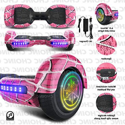 CHO Spider Wheels Hoverboard UL2272 Board with Wheels Electric Scooter Smart Self