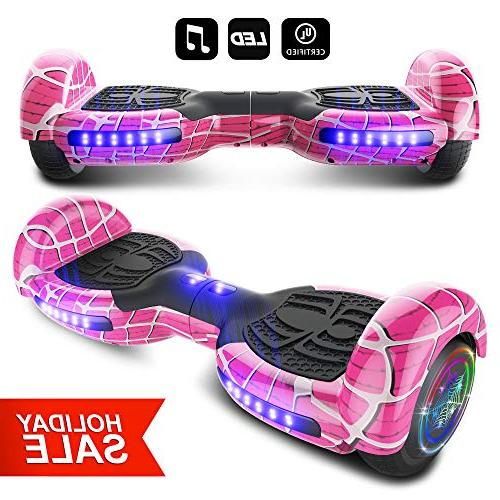 spider wheels series hoverboard ul2272