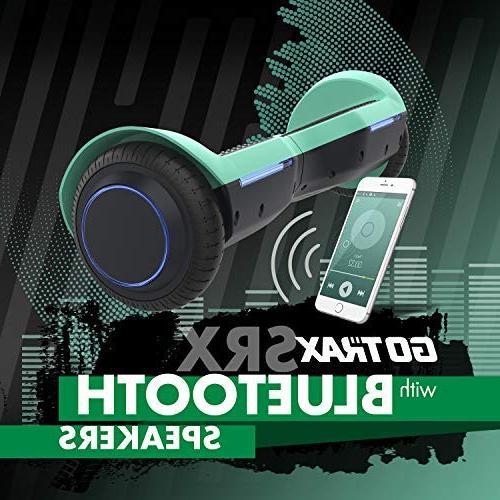 GOTRAX SRX Hoverboard UL2272 Self Board w/Bluetooth Speakers