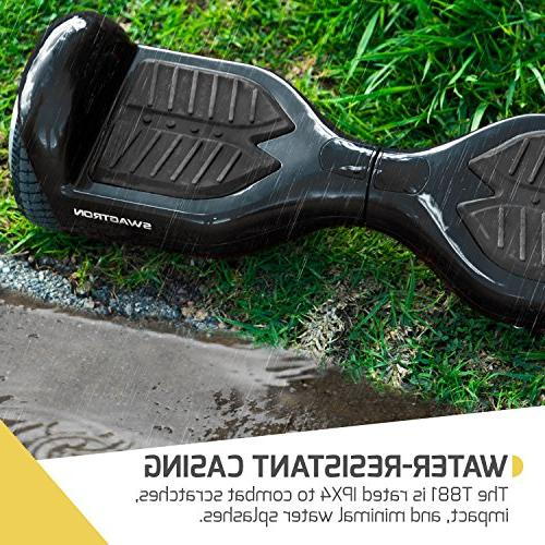 Swagtron Lithium-Free Ul2272 Certified Hoverboard,