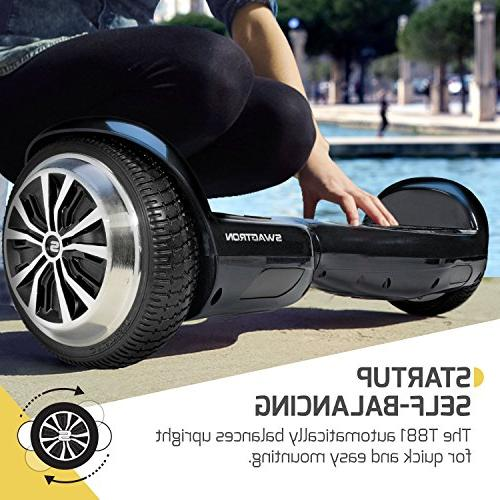 Swagtron T881 Lithium-Free Hoverboard, Blue, One Size