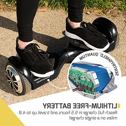Swagtron Swagboard T881 Lithium-Free Ul2272 Hoverboard,