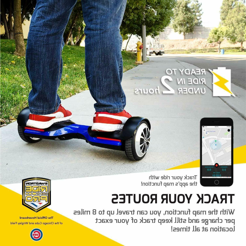 Open Box T580 Hoverboard 6In Wheel w App