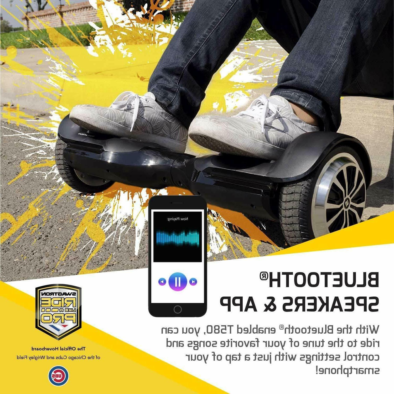 Open Swagtron T580 Hoverboard w Bluetooth Speaker & App