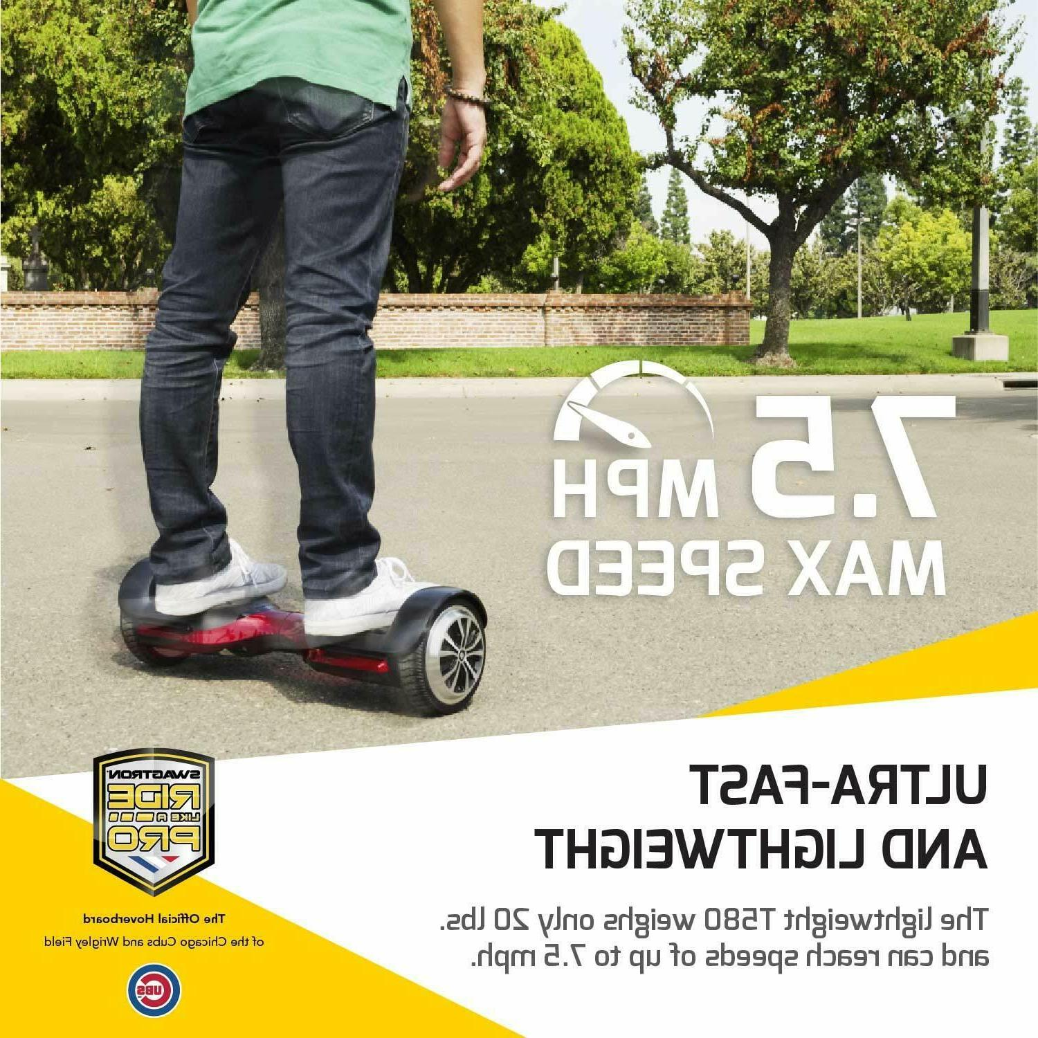 Open Box Swagtron Hoverboard w App