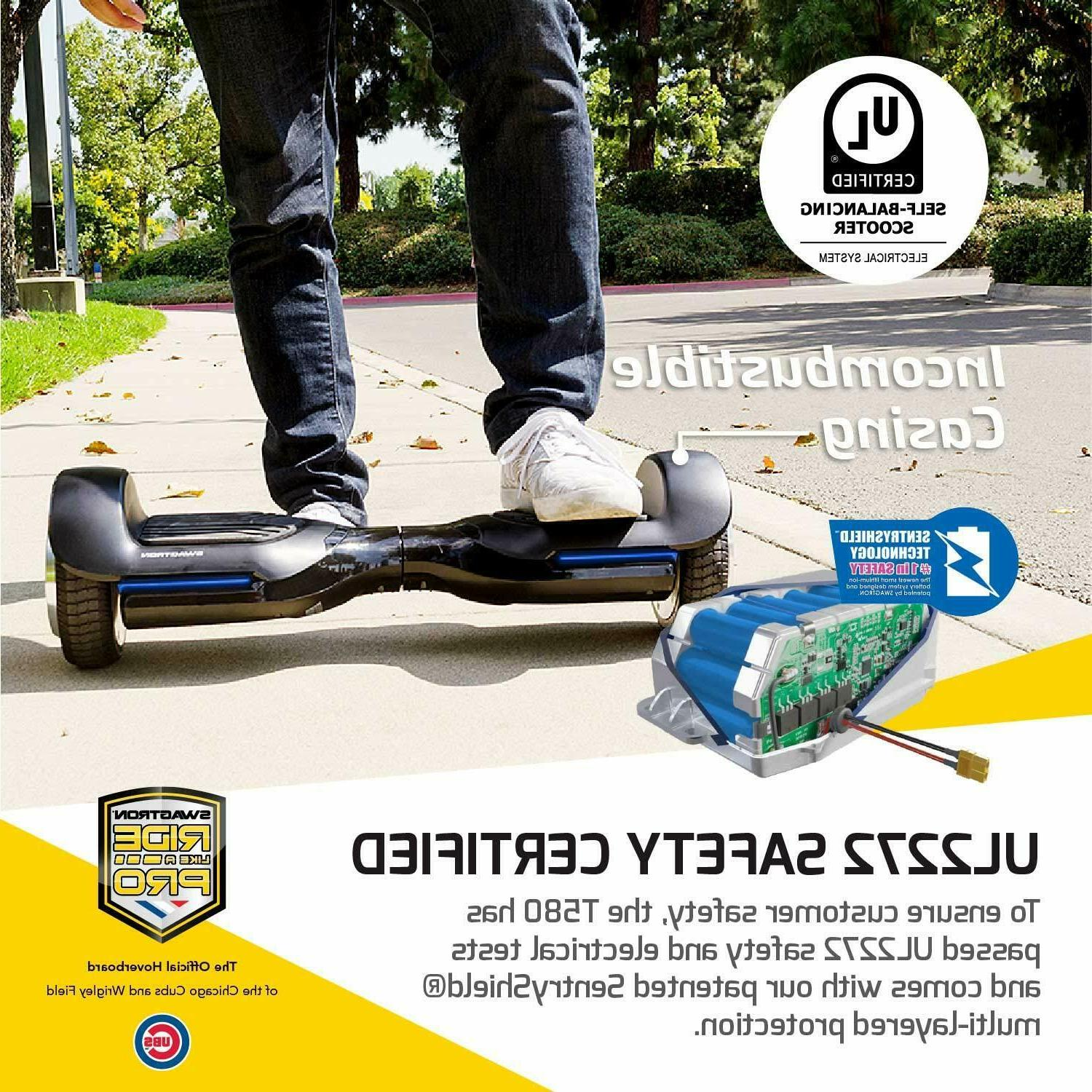 Open Hoverboard Scooter w Bluetooth