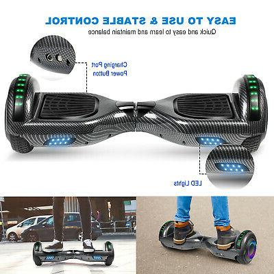 Swagtron UL2272 Balancing Hoverboard Electric Scooter - Black!