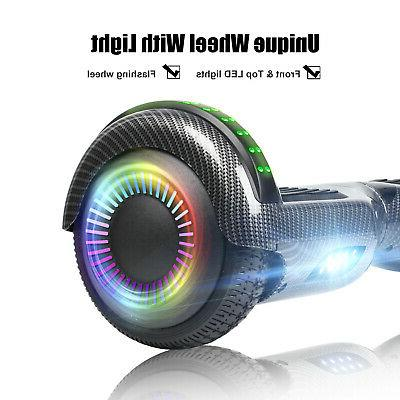 """6.5"""" Off Road Bluetooth Hoverboard Self Scooter Safety no Bag"""