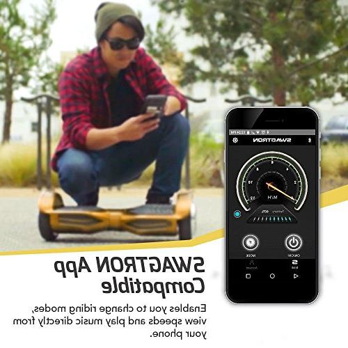 Swagtron Hoverboard - Bluetooth &