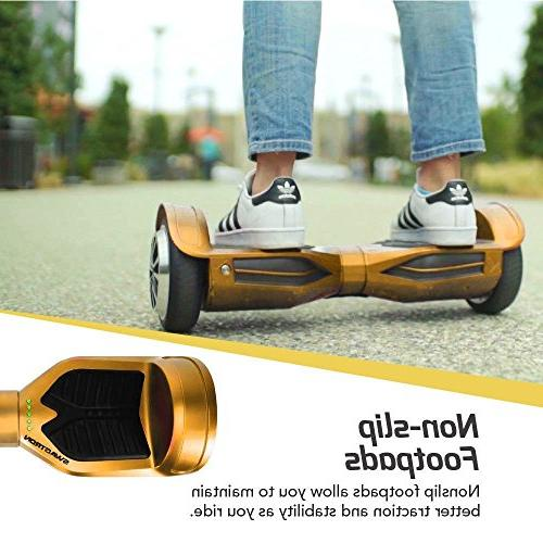 Swagtron T380 Hoverboard Bluetooth & Lights, Personalize
