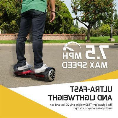 Swagtron T580 Bluetooth Smart Balancing Wheel w/ Speaker