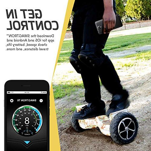"""SWAGTRON - in the World to 380 LBS, to 12 UL2272 Certified, 10"""" Wheel"""