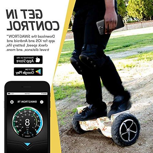 Swagtron Off-Road Hoverboard in The World to Handle Over 380 Up to UL2272 Certified,